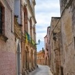 Alleyway. Ugento. Puglia. Italy. — Stock Photo