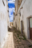Alleyway. Felline. Puglia. Italy. — Stock Photo