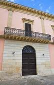 Rovito palace. Ugento. Puglia. Italy. — Stock Photo