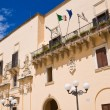 Ducal palace. Taurisano. Puglia. Italy. — Stock Photo