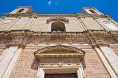 Mother church of Transfiguration. Taurisano. Puglia. Italy. — Stock Photo