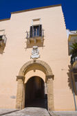 Ducal palace. Taurisano. Puglia. Italy. — Stock Photo