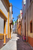 Alleyway. Taurisano. Puglia. Italy. — Stock Photo