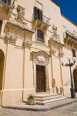 Church of St. Nicola. Taurisano. Puglia. Italy. — Stock Photo