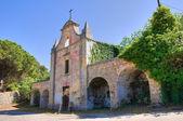 Church of Addolorata. Acquarica del Capo. Puglia. Italy. — Stock Photo
