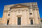 Mother Church. Alessano. Puglia. Italy. — Stock Photo