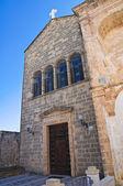 Church of St. Antonio. Alessano. Puglia. Italy. — Stock Photo