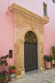 Historical palace. Ugento. Puglia. Italy. — Stock Photo
