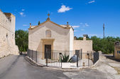 Church of Madonna del Curato. Ugento. Puglia. Italy. — Stock Photo