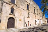 Ducal palace. Alessano. Puglia. Italy. — Stock Photo