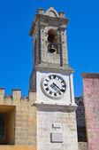 Clocktower. Alessano. Puglia. Italy. — Stock Photo