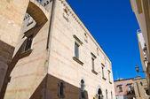 Legari palace. Alessano. Puglia. Italy. — Stock Photo