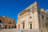 Mother Church. Alessano. Puglia. Italy. — Stock Photo
