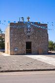 Madonna dei Panetti Church. Acquarica del Capo. Puglia. Italy. — Stock Photo