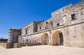 Castle of Andrano. Puglia. Italy. — Stock Photo