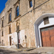 Ducal palace. Alessano. Puglia. Italy. — Stock Photo