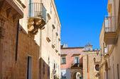 Alleyway. Alessano. Puglia. Italy. — Stock Photo