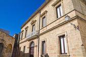 Historical palace. Alessano. Puglia. Italy. — Stock Photo
