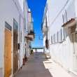 Alleyway. Castro. Puglia. Italy. — Stock Photo