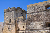カストロの城。プーリア州。イタリア. — ストック写真