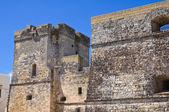 Castillo de castro. puglia. italia. — Foto de Stock