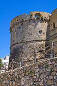 City walls. Castro. Puglia. Italy. — Stock Photo