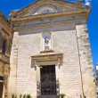 Church of St. Francesco. Poggiardo. Puglia. Italy. — Stock Photo