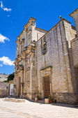 Mother Church. Poggiardo. Puglia. Italy. — Stock Photo