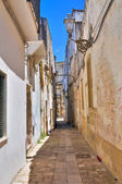 Alleyway. Poggiardo. Puglia. Italy. — Stock Photo