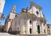 Duomo Cathedral of Maglie. Puglia. Italy. — Stock Photo