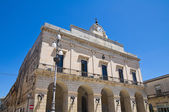 Town Hall Building. Maglie. Puglia. Italy. — Stock Photo