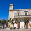 Clocktower. Palmariggi. Puglia. Italy. — Stock Photo