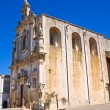 Mother Church of St. Luca. Palmariggi. Puglia. Italy. — Stock Photo