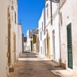 Alleyway. Palmariggi. Puglia. Italy. — Stock Photo