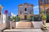 Chapel of the Madonna della Palma. Palmariggi. Puglia. Italy. — Stock Photo