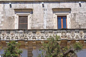 Historical palace. Palmariggi. Puglia. Italy. — Stock Photo