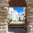 Historical palace. Palmariggi. Puglia. Italy. — Stock Photo
