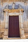Mother Church of St. Luca. Palmariggi. Puglia. Italy. — Stock Photo