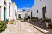 Alleyway. Palmariggi. Puglia. Italy. — Stock Photo