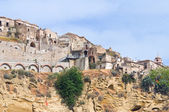 Vue panoramique de tursi. basilicate. italie. — Photo