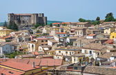 Panoramatický pohled na melfi. basilicata. itálie. — Stock fotografie