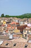 Panoramautsikt över melfi. basilicata. italien. — Stockfoto