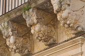 Persone Palace. Lecce. Puglia. Italy. — Stock Photo