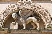 Church of St. Mark. Lecce. Puglia. Italy. — Stock Photo