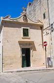 Historical church. Maglie. Puglia. Italy. — Stock Photo