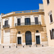 Historical palace. Brindisi. Puglia. Italy. — Stock Photo