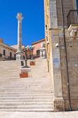 Roman columns. Brindisi. Puglia. Italy. — Stock Photo