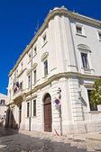 Montenegro palace. Brindisi. Puglia. Italy. — Stock Photo