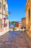 Alleyway. Brindisi. Puglia. Italy. — Stock Photo