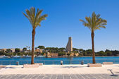 Seafront. Brindisi. Puglia. Italy. — Stock Photo